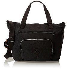 Kipling U.S.A. 2015時尚Noelle多功能肩帶雙提黑色手提包★預購